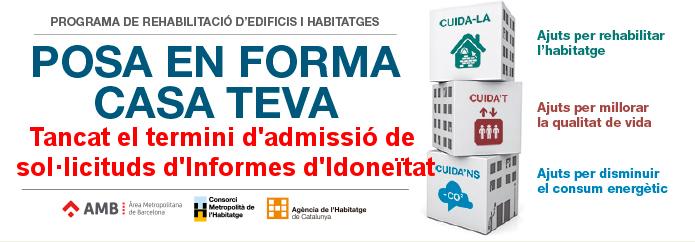 ajuts rehabilitació 2017 consorci metropolità Barcelona
